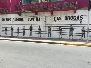 Mural en la Avenida Universidad (2015)