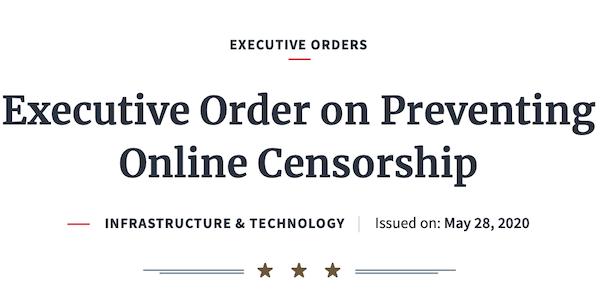 """Episodio 29- Libertad de Expresión y la Orden Ejecutiva """"on Preventing Online Censorship"""""""