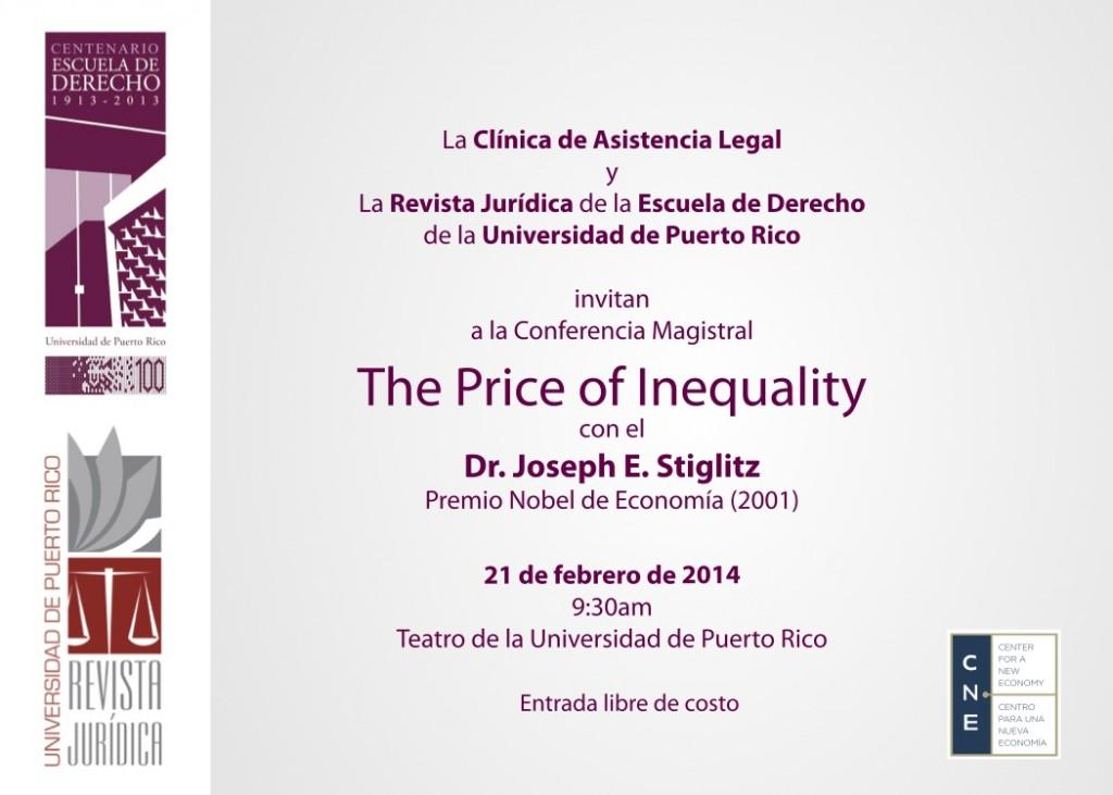 Stiglitz invite